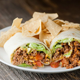 Ground Beef Tortilla Wraps Recipes.
