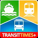 TransitTimes+ Trip Planner logo