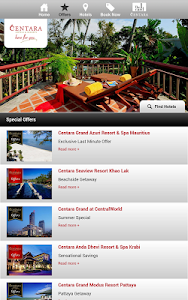 Centara Hotels & Resorts screenshot 11