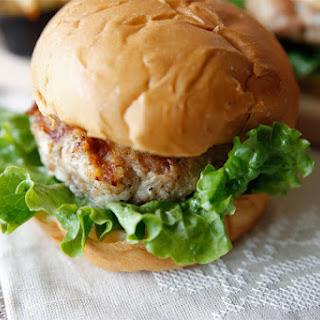 Swiss Turkey Burger