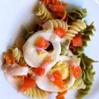 Smoked Salmon and Egg Pasta Salad Recipe