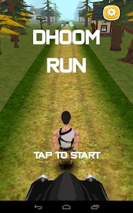 Temple Dhoom 3 Run
