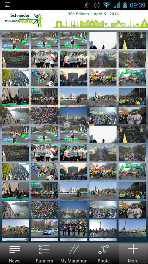 Paris Marathon 2014 - screenshot