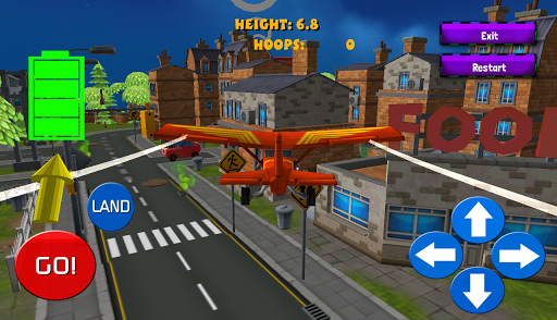 FLIGHT SIMULATOR: 3D TOWN