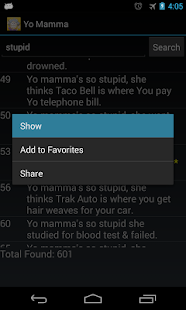 Yo Mamma Jokes - screenshot thumbnail