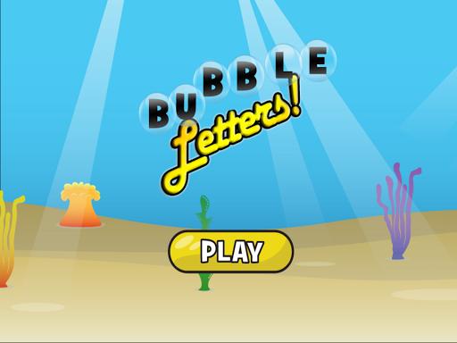 Letter Bubbles