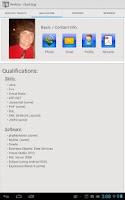 Screenshot of CTK Resume