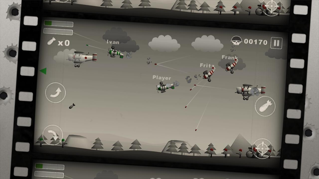 Screenshots of Sky Aces Free for iPhone