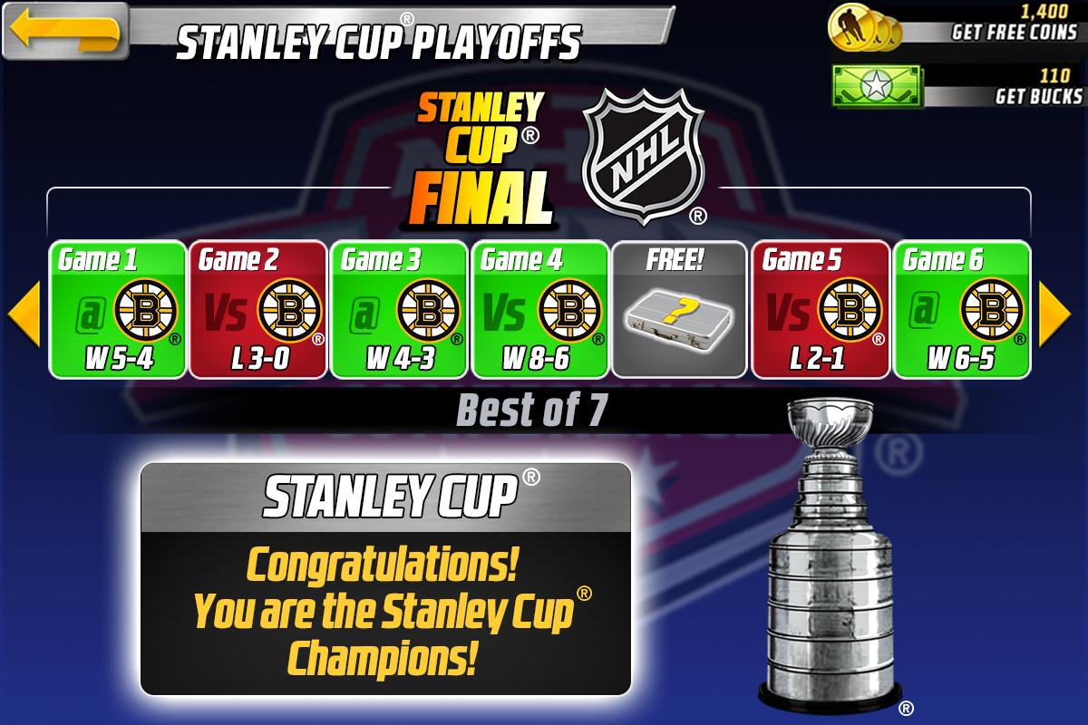 Big Win NHL Hockey - screenshot