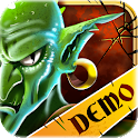 Mighty Dungeons Demo logo
