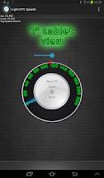 Screenshot of Light GPS Speedometer: kph/mph