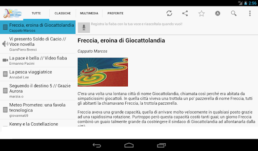 Learn Italian through fables - screenshot thumbnail