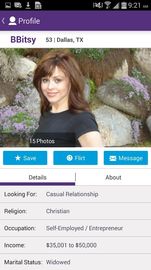 OurTime Dating for Singles 50+- screenshot