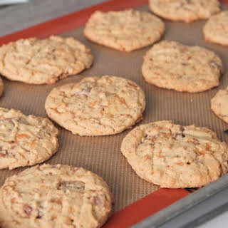 Butterfinger Peanut Butter Chocolate Chunk Cookies.