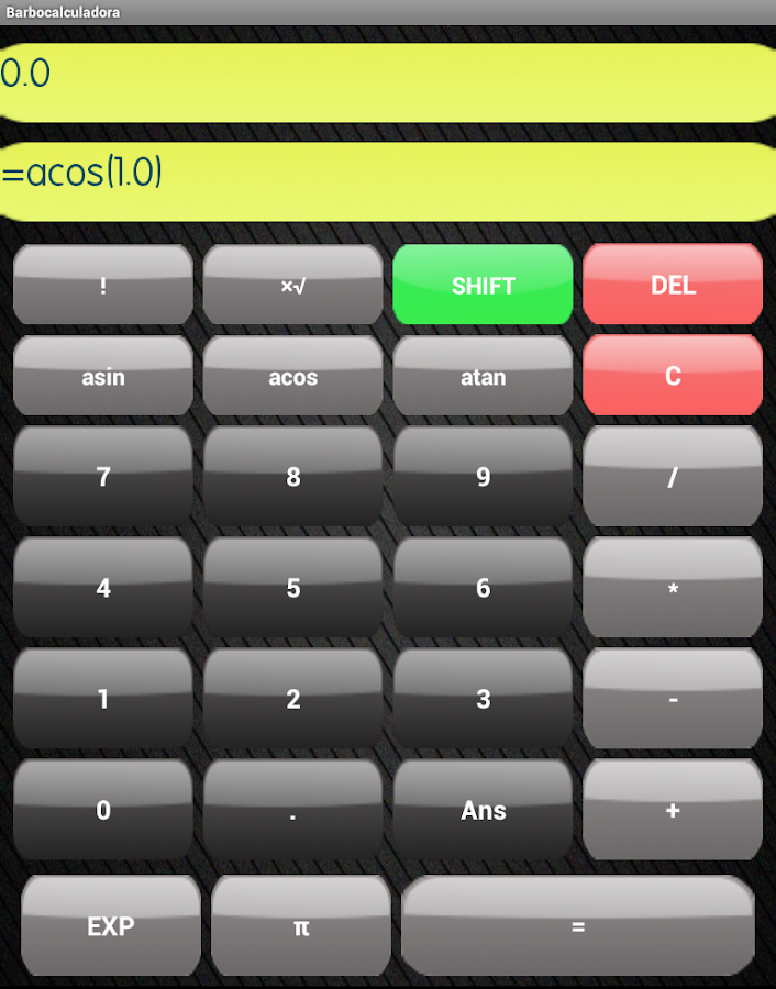 Calculadora - screenshot