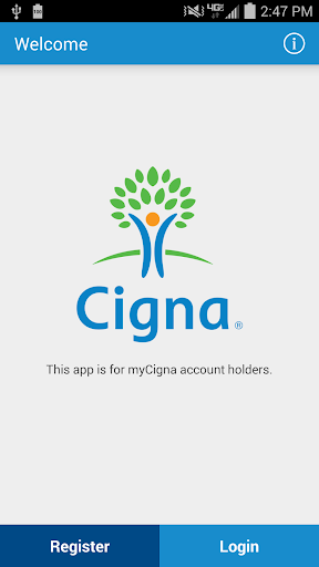 myCigna Screenshot