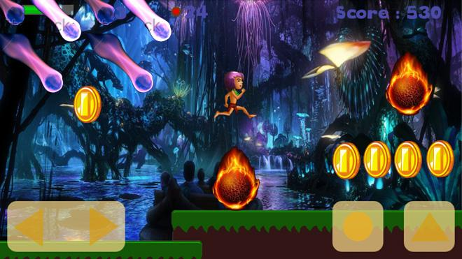 Jungle Fire Run apk download