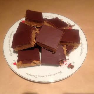 Peanut Butter Chocolate Slice.