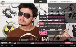 Screenshot of Multishow