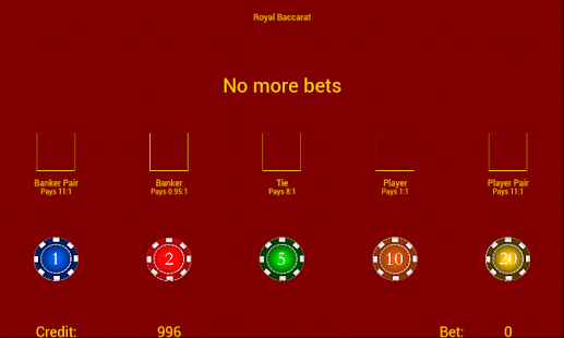 Royal Baccarat- screenshot thumbnail
