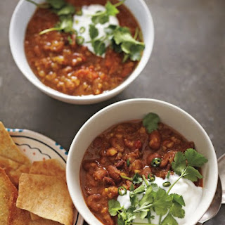 Indian-Spiced Bean-and-Tomato Soup.