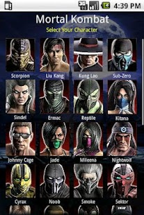 Mortal Kombat Moves - screenshot thumbnail