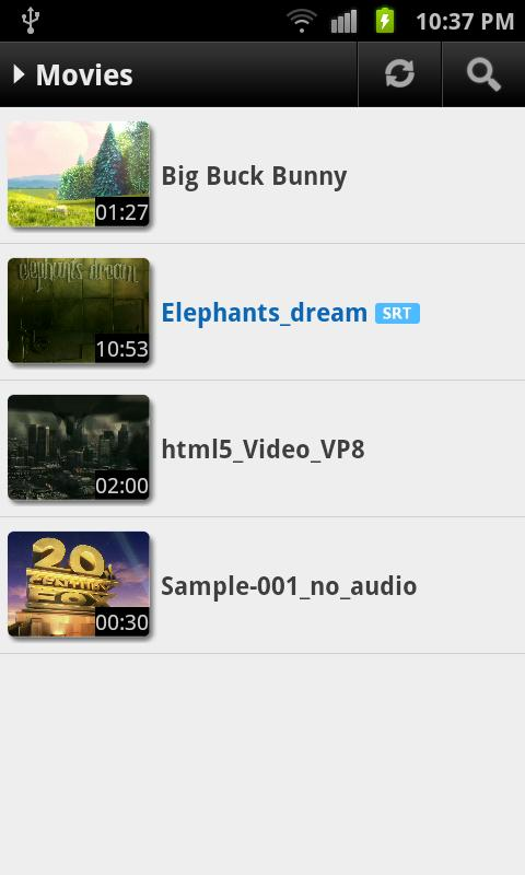 MX Player Codec (ARMv6 VFP) - screenshot
