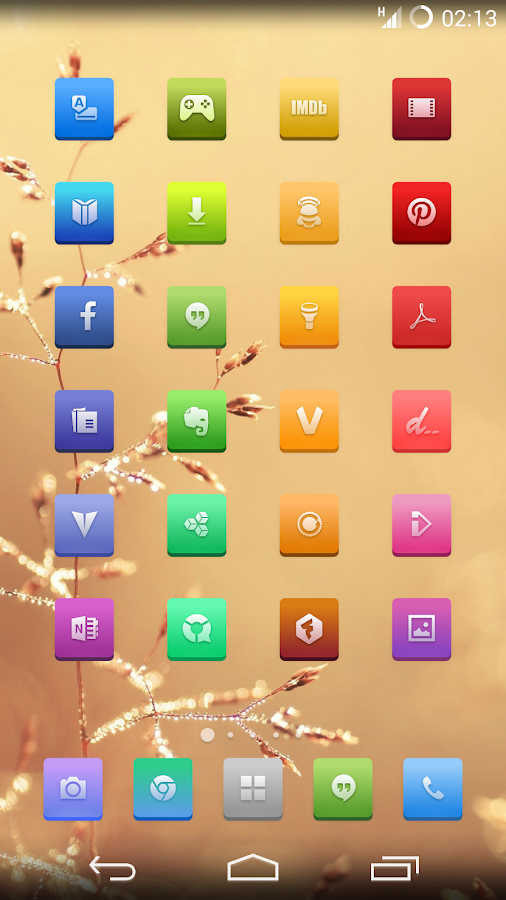 Etched Vivid Icons - screenshot