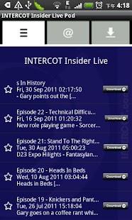 INTERCOT Insider Live- screenshot thumbnail