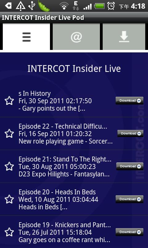 INTERCOT Insider Live- screenshot