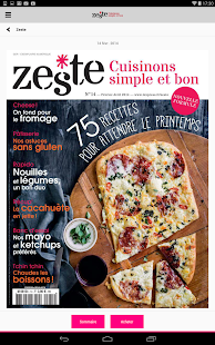Zeste - Magazine - screenshot thumbnail