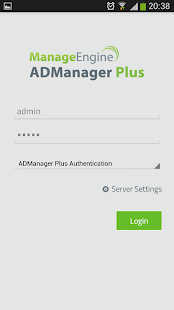 ADManager Plus- screenshot thumbnail