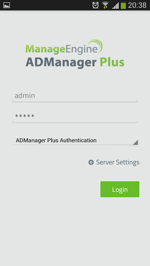 ADManager Plus- screenshot