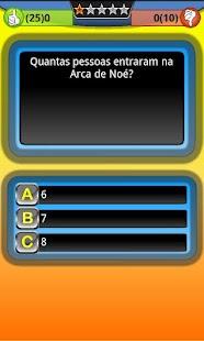 Jogo Trivia Quiz Bíblia Grátis- screenshot thumbnail