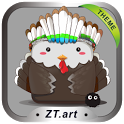 K-Thanksgiving GO Getjar Theme icon
