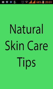 Natural Skin Care Tips- screenshot thumbnail