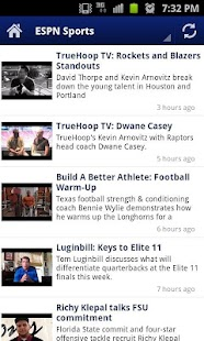 Latest Sport Videos - Free - screenshot thumbnail