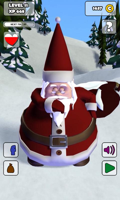 Talking Santa Free - screenshot