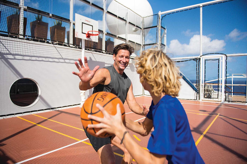 Spend quality time with your kids on board Celebrity Reflection. Just remember, no hard fouls.