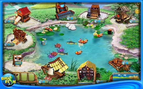 Fisher 39 s family farm full android apps on google play for Fish farm games