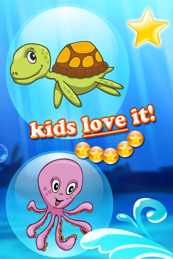 Ocean puzzle HD for toddlers- screenshot