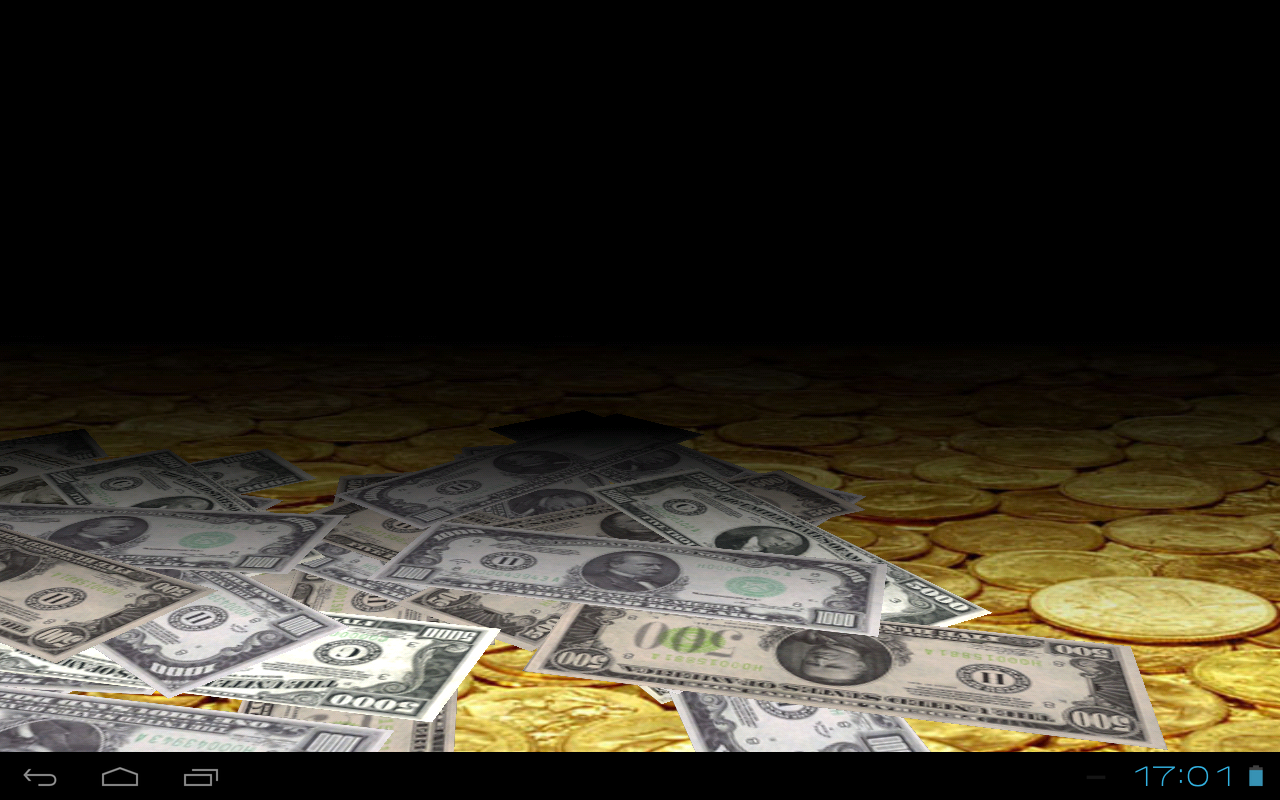 falling money 3d wallpaper android apps on google play