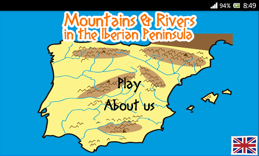 Iberia: Rivers and Mountains