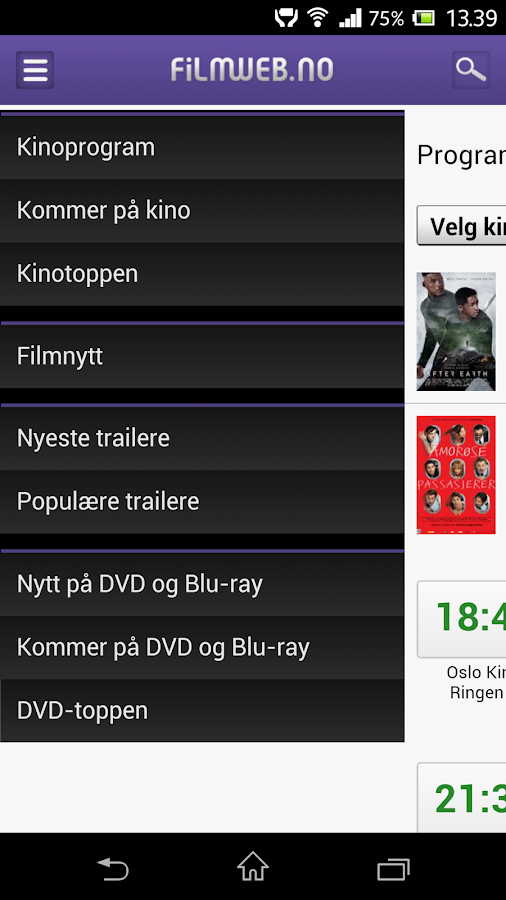 Filmweb - screenshot