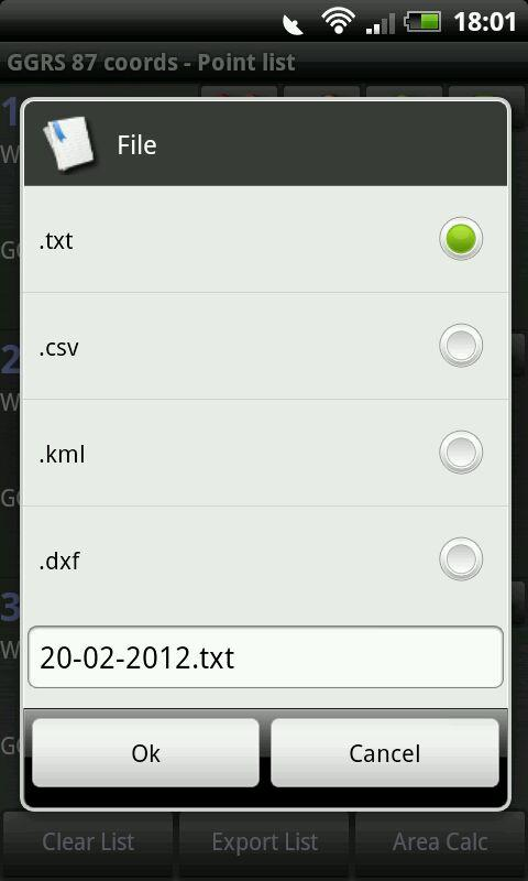 GGRS87 (ΕΓΣΑ87) - screenshot