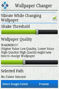 Wallpaper Changer Trial- screenshot thumbnail