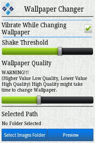 Wallpaper Changer Trial- screenshot
