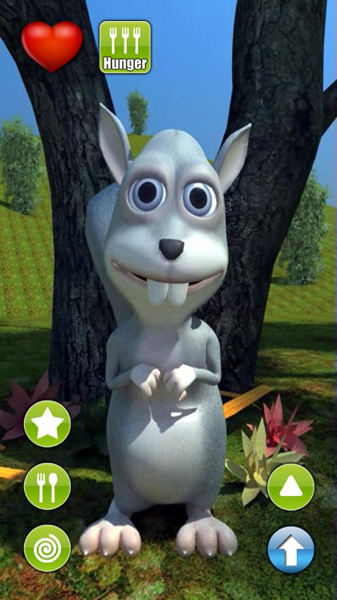 Talking Simon Squirrel - screenshot