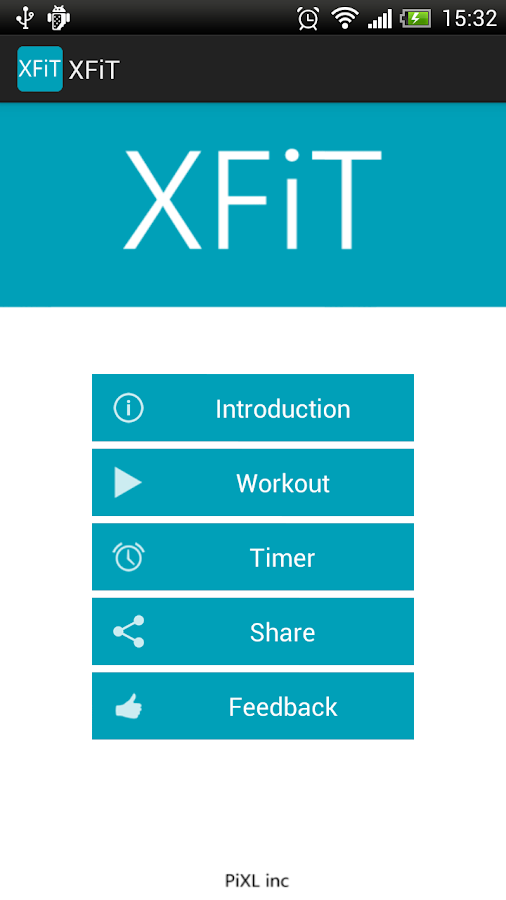 XFiT CrossFit Challenge WOD - screenshot