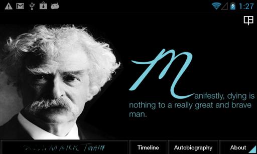 This is Mark Twain